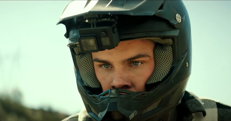 Axl Movie 2018 motocross helmet alex neustaedter in a.x.l. (2018)