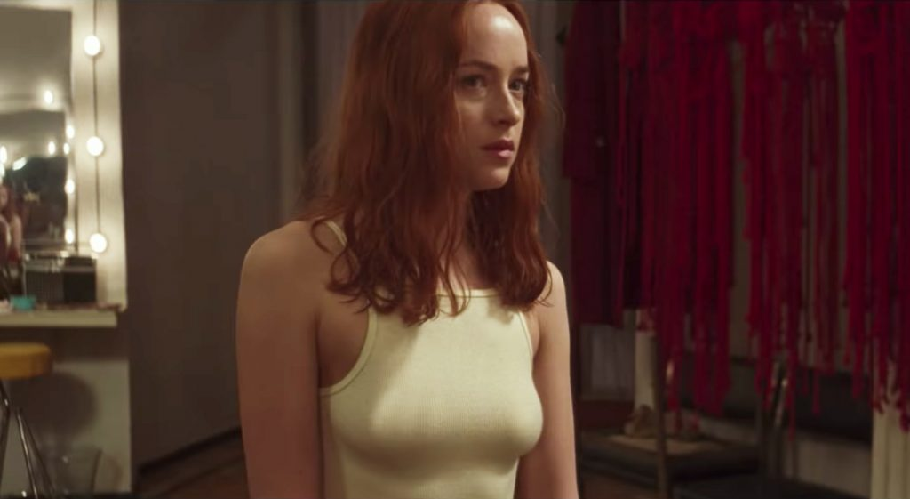 White Tank Top Dakota Johnson in Suspiria (2018)