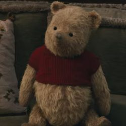 Winnie the Pooh Plush in Christopher Robin (2018)