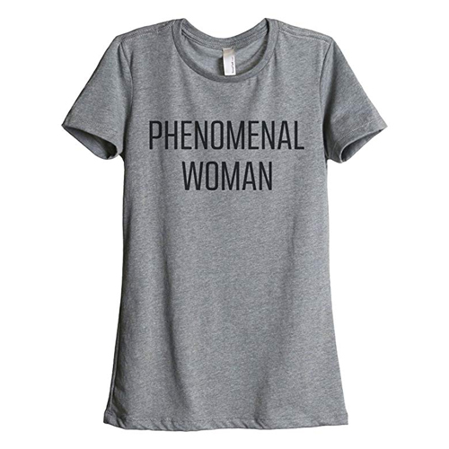 Phenomenal Woman T-shirt Tiffany Haddish in Night School (2018)