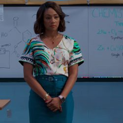 Pink Apple Watch Tiffany Haddish in Night School (2018)