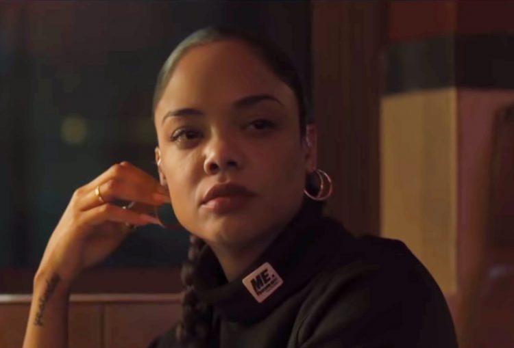 Black Cropped Turtleneck Tessa Thompson in Creed II (2018)