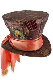 Alice in Wonderland New Tim Burton Mad Hatter Adult Hat