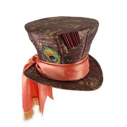 Alice in Wonderland New Tim Burton Mad Hatter Adult Hat
