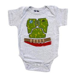 Star Wars I Am Boba Fett Infant Costume Baby Onesie Romper
