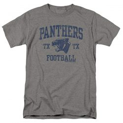 Friday Night Lights Panther Arch Football Heather Gray T-Shirt
