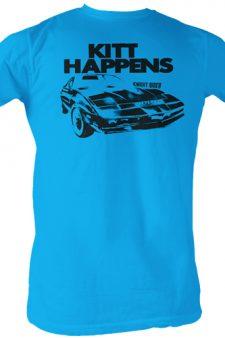 Knight Rider Kitt Happens T-Shirt
