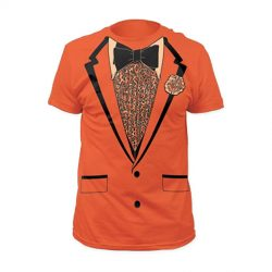 Dumb and Dumber Tuxedo Tux Costume Orange T-shirt
