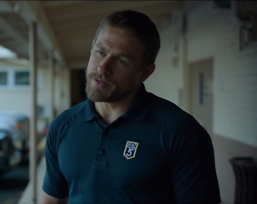Glock Gen5 Polo Shirt Charlie Hunnam in Triple Frontier (2019)