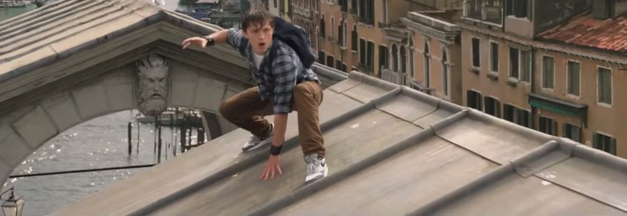 Nike Air Max shoes Tom Holland in Spider-Man: Far From Home (2019)