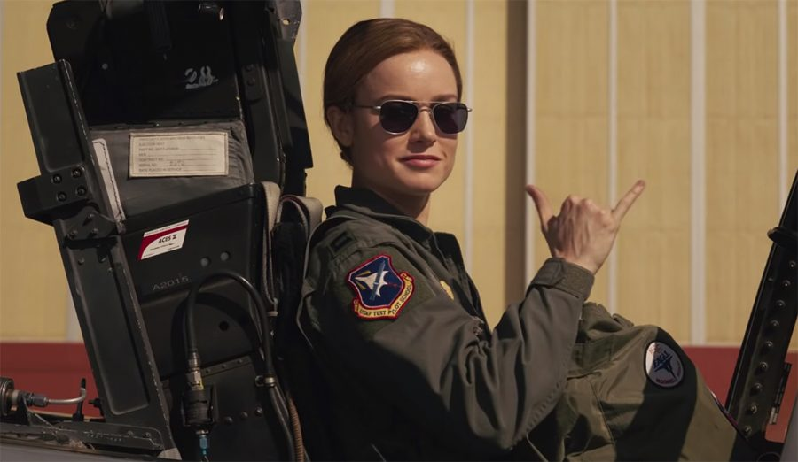 Flight suit Brie Larson in Captain Marvel (2019)