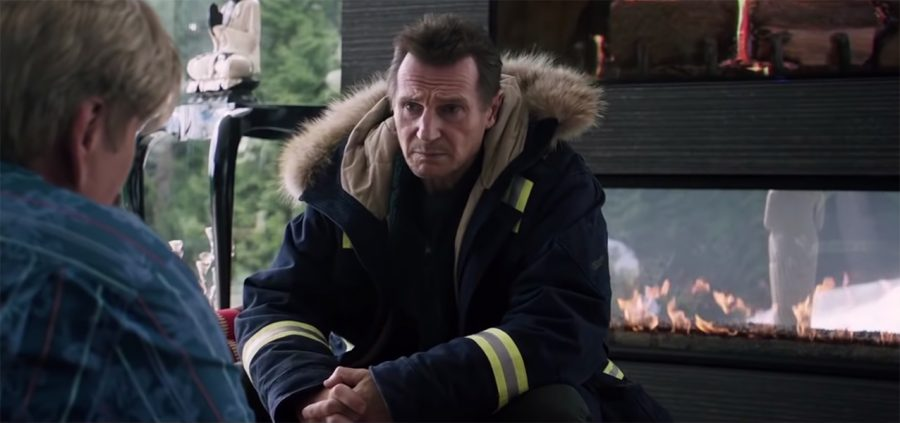 Parka jacket Liam Neeson in Cold Pursuit (2019)