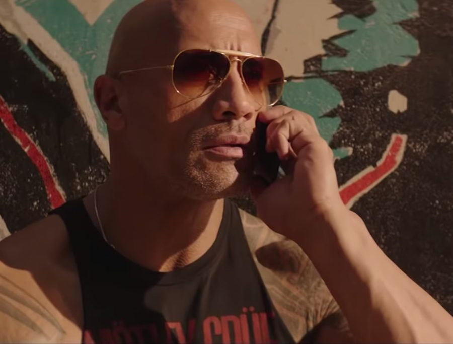 Sunglasses Dwayne Johnson in Fast & Furious Presents: Hobbs & Shaw