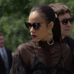 Sunglasses Zawe Ashton in Velvet Buzzsaw (2019)