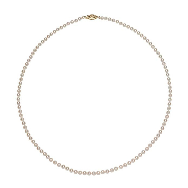 Small pearls necklace Sasha Luss in Anna (2019)