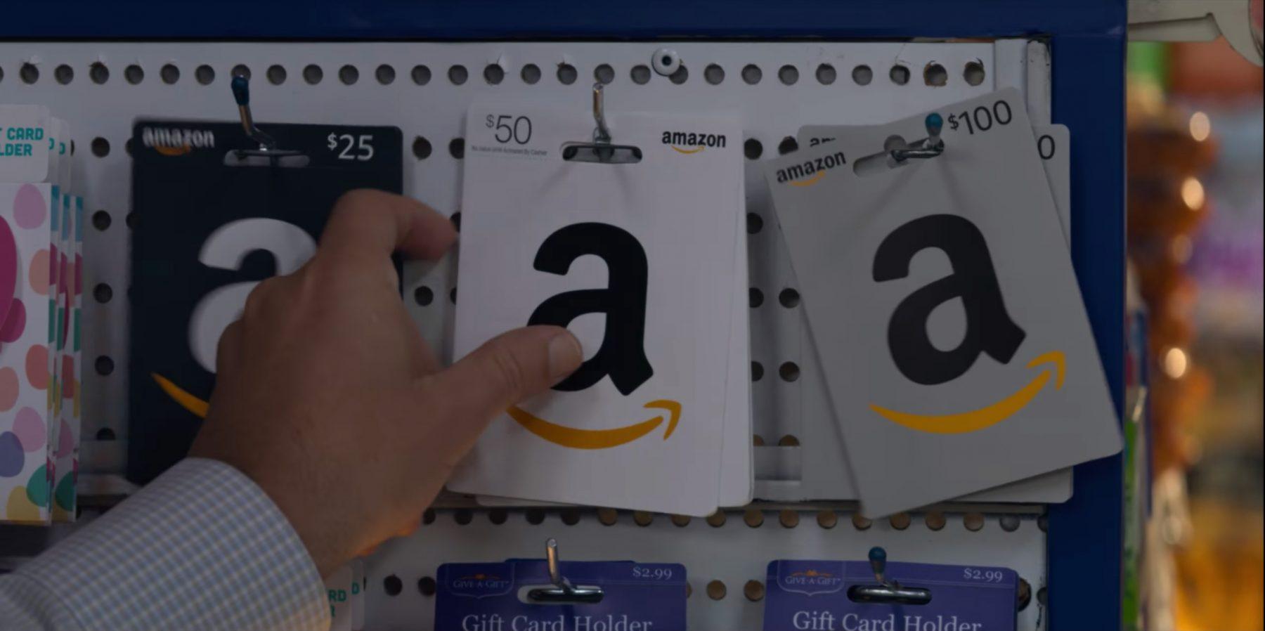 Amazon Gift Card In Murder Mystery