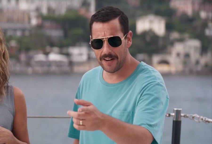 Aviator sunglasses Adam Sandler in Murder Mystery
