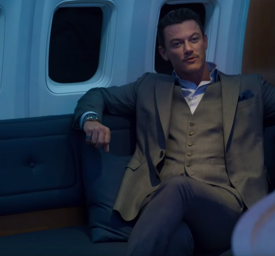 Wristwatch Luke Evans in Murder Mystery