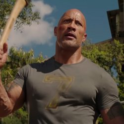 Number 7 T-shirt Dwayne Johnso n in Fast & Furious Presents: Hobbs & Shaw