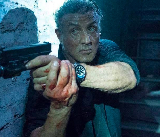 Wristwatch Sylvester Stallone in Escape Plan: The Extractors