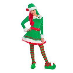 Green elf costume Emilia Clarke in Last Christmas