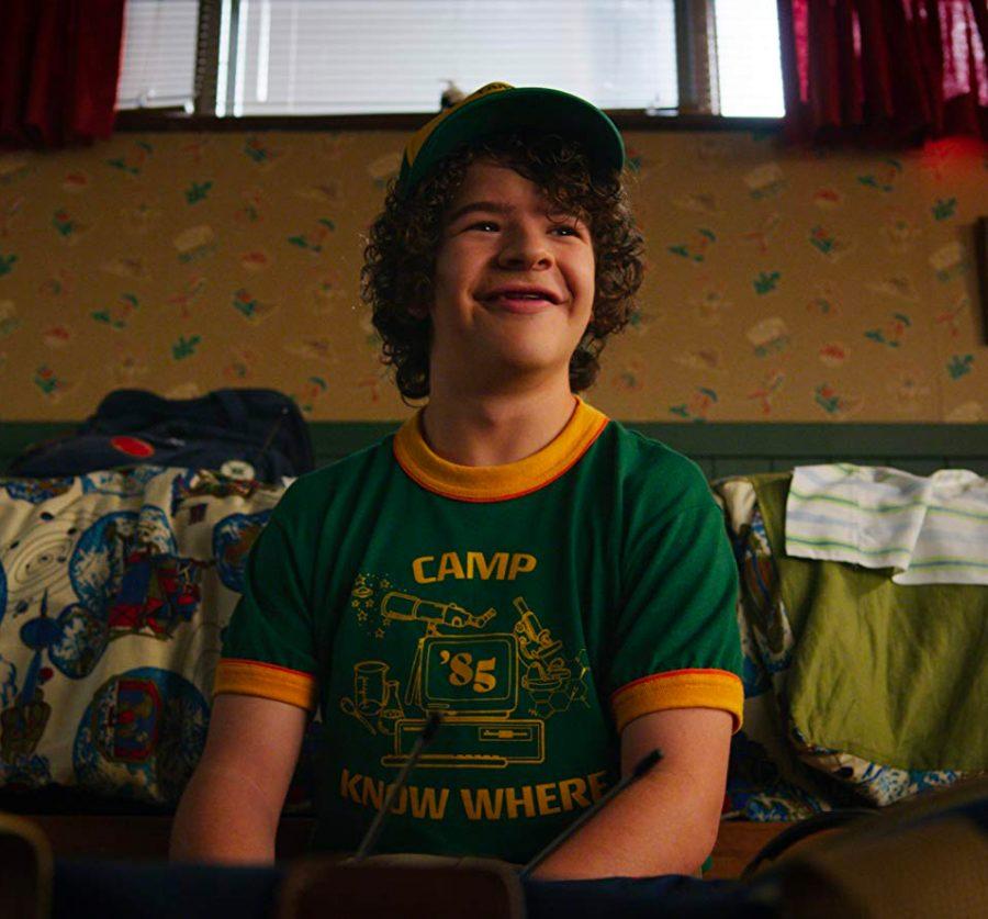 Camp Know Where T-Shirt Gaten Matarazzo in Stranger Things