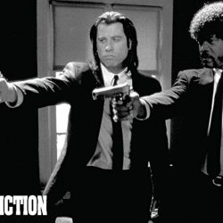 Laminated Pulp Fiction poster