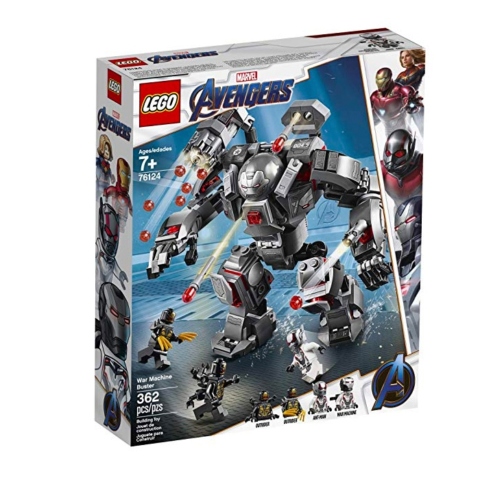 Marvel Avengers War Machine Buster 76124 LEGO Building Kit