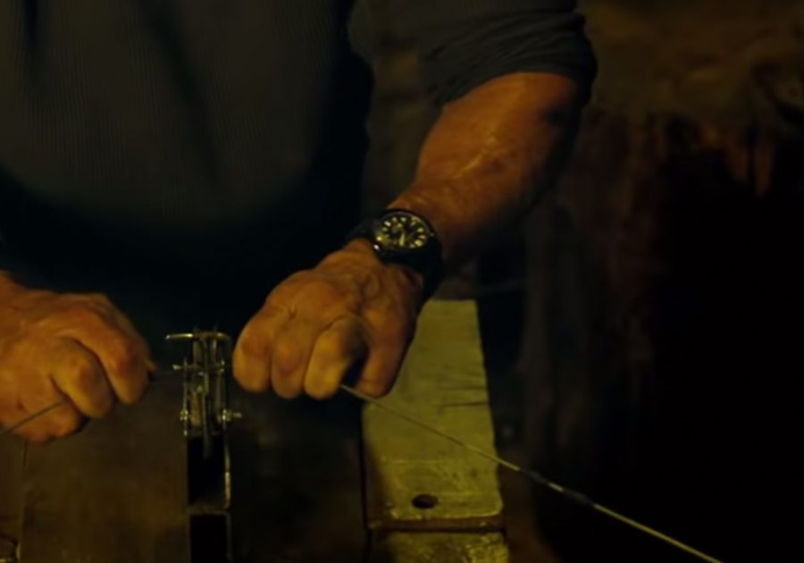 Wristwatch Sylvester Stallone in Rambo: Last Blood