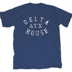 Animal House Delta House Fraternity T-shirt - Blue - 2X
