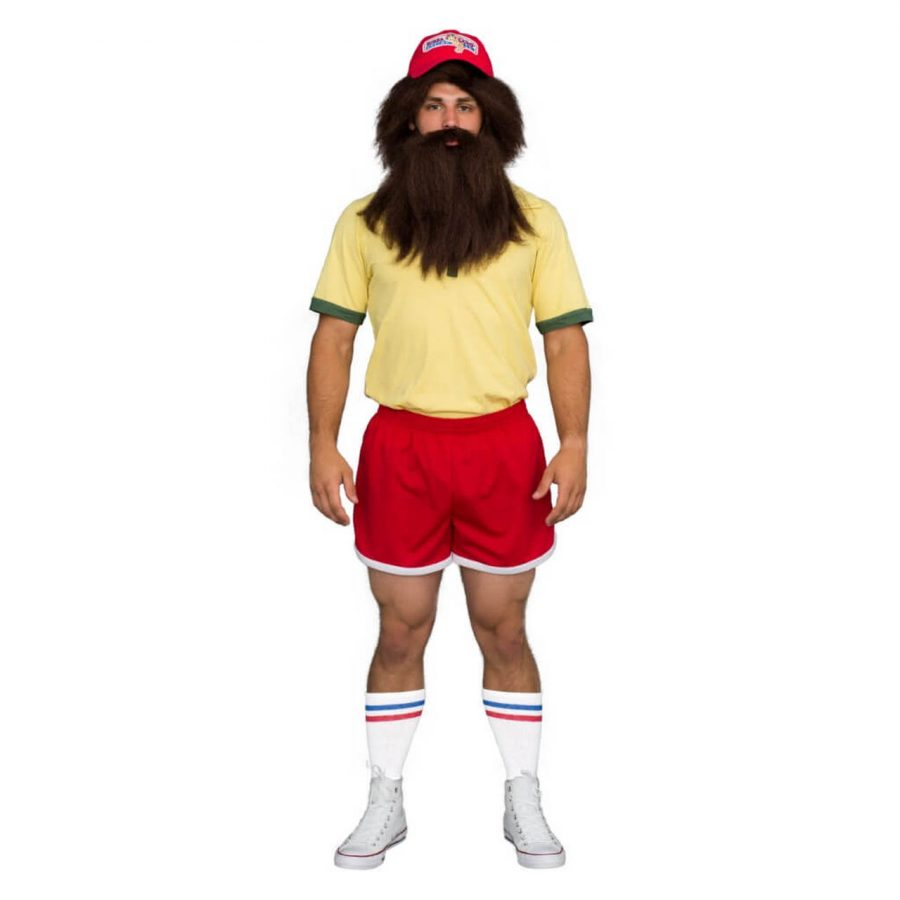 Forrest Gump Adult Halloween Complete Costume Set - Yellow/Red/White - 2XL