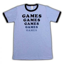 Games T-shirt Jesse Eisenberg in Adventureland