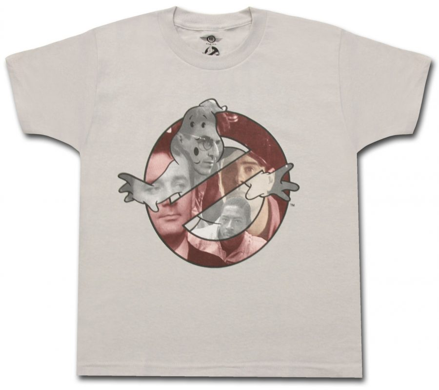 Ghostbusters Close Ups Youth T-shirt - Silver - YXL