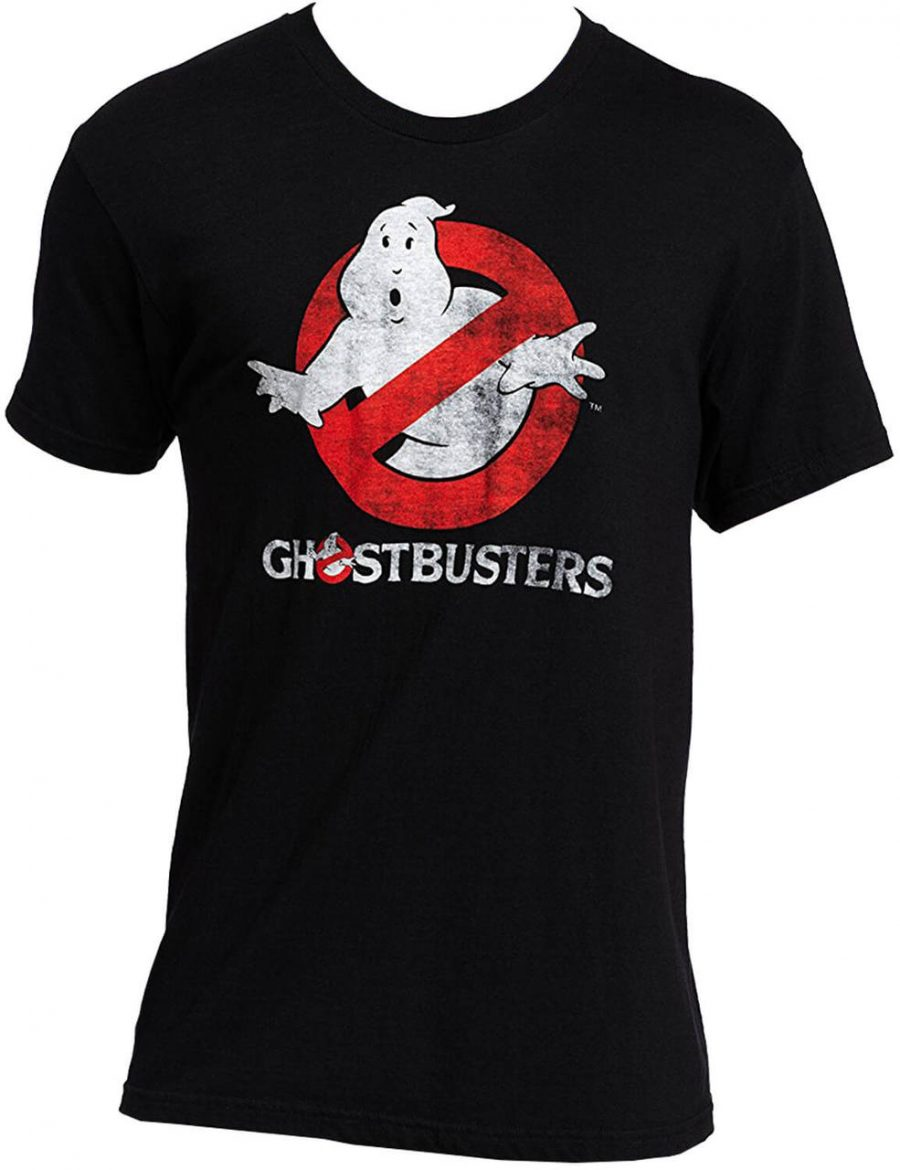 Ghostbusters Faded Logo To Go Black T-Shirt - Black - 3X