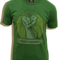 Green Lantern Fist Adult T-shirt - Green - 2X