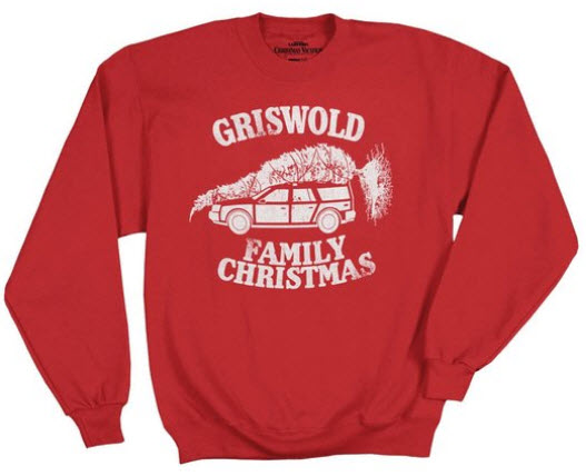 Griswold Family Vacation CREWNECK SWEATSHIRT - Red - 3X