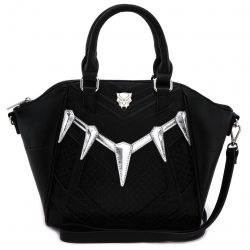 Marvel Comics Black Panther Cosplay Crossbody Bag - Black - One size fits all