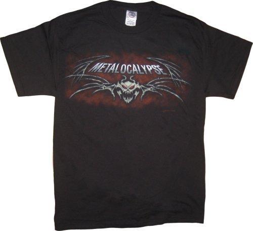 Metalocalypse Dethklok Skull T-Shirt - Black - 3X