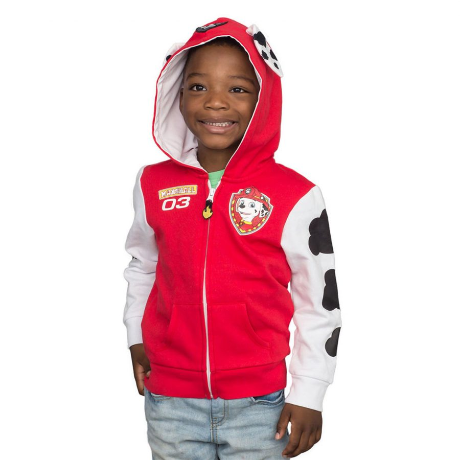 Paw Patrol Children Zip up Hoodie - Red - 4T