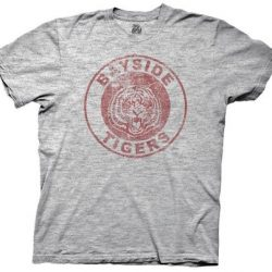 Saved By the Bell Bayside Tigers T-shirt Gray - Gray - 2X