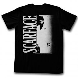 Scarface Tony Montana Lots O Light T-Shirt - Black - 2X