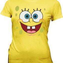 SpongeBob SquarePants Basic Bob Face T-shirt - Yellow - XL