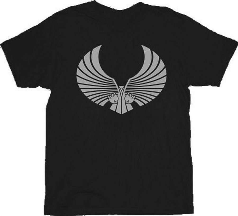 Star Trek Romulan Logo T-shirt - Black - 2X