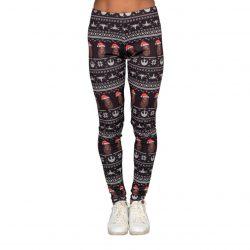 Star Wars Chewbacca Santa Hat Women's Leggings - Black - XXL