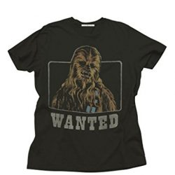 Star Wars Chewbacca Wanted T-Shirt - Black - 2X
