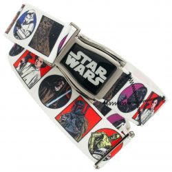 Star Wars Comic Panel Adjustable Crosscheck Flightbelt - White - One size fits all