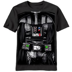 Star Wars Darth Vader Dark Costume T-shirt - Black - 2X