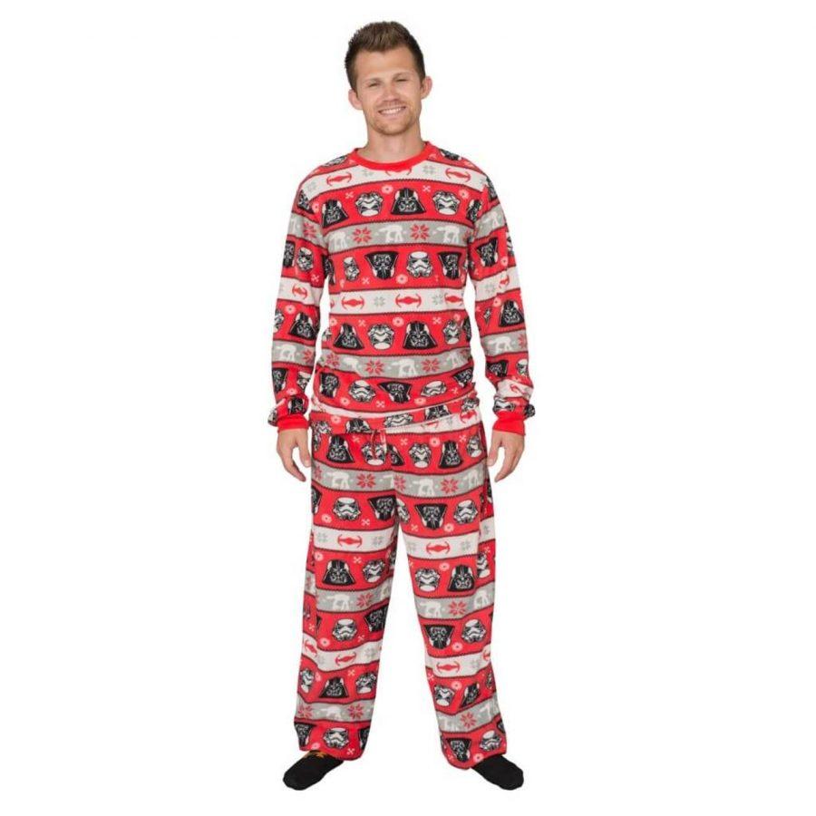 Star Wars Darth Vader Tropper Pajama Set - Red - 3XL