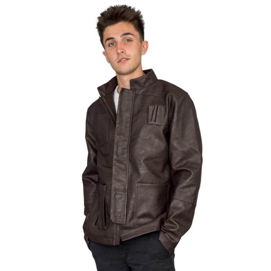 Star Wars Replica Han Solo Brown Jacket - Brown - 3XL