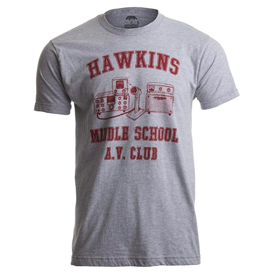 Stranger Things Hawkins Middle School A.V. Club T-Shirt